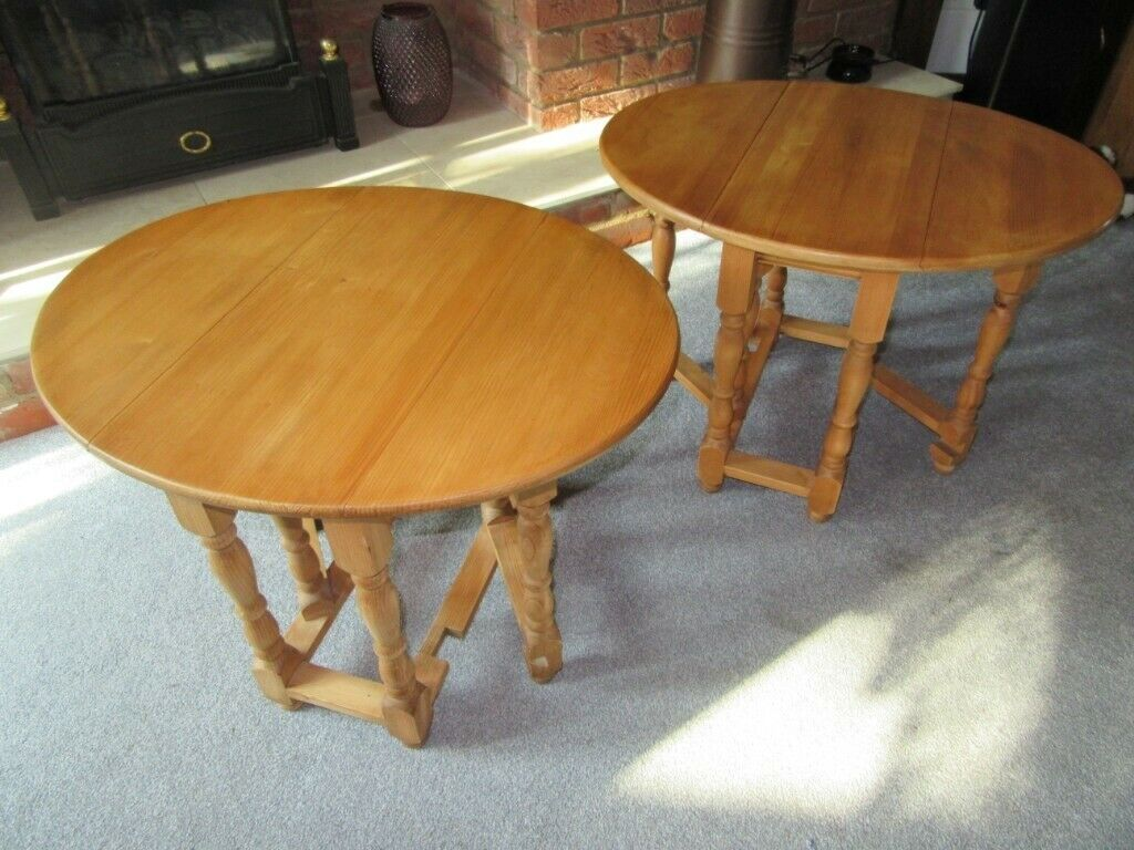 Amazing Furniture Small Pine Gateleg Table Drop Leaf Side End Lamp Oval Table Top Sanded Refinished In Needham Market Suffolk Gumtree Squirreltailoven Fun Painted Chair Ideas Images Squirreltailovenorg