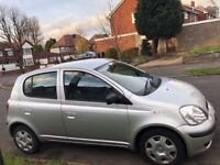 TOYOTA YARIS AUTOMATIC, 04 REG, 90K MILES, 1 YR MOT, DELIVERY AVAILABLE, 5 DOOR, DRIVES MINT