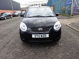 2011 KIA PICANTO 1.0 PETROL,FULL YEAR MOT,LOW INSURANCE,BRAND NEW CLUTCH JUST FITTED,