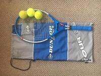Dunlop Tennis Racket. Child size.