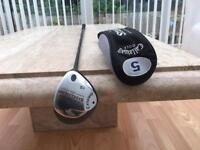 Callaway steelhead 5 wood golf club. Excellent Condition. Titleist Ping Taylormade style