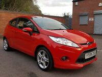 2009 FORD FIESTA 1.6 TDCI ZETEC S SPORT 1 OWNER FSH FOCUS VW GOLF POLO VAUXHALL ASTRA CORSA AUDI A3