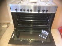 Delongi 900 mm s/s range cooker