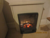Electric Fire F- Flame effect 2kw - Dimplex CANFIELD model - never fitted