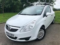 2008 08 VAUXHALL CORSA VAN 1.3 CDTi *DIESEL* - ONLY 2 OWNERS FROM NEW - APRIL 2019 M.O.T - LOW MILES