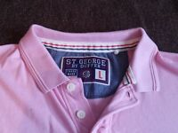 St George by Duffer Pink Polo top from Debenhams. Never worn. Size L