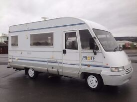 PILOTE GALAXY MX25 A CLASS 2.5TD 66,000 MILES 5 BERTH-NEW HABITATION CHECK