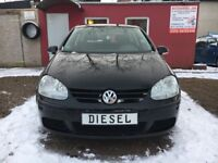 2005 Left Hand Drive Volkswagen Golf 5 2.0TDI 140CP 6speed 1 owner from new