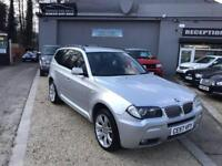 BMW X3 3.0 D M SPORT 5d AUTO 282 BHP (silver) 2007