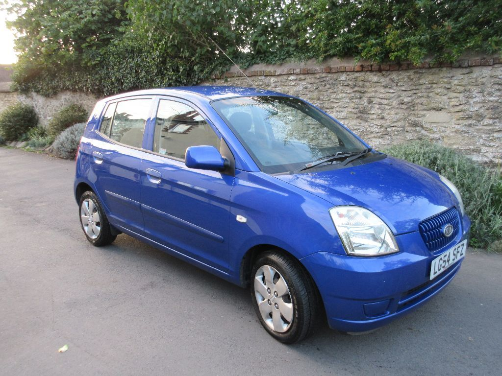 kia picanto 1 1 lx 2005 blue 5 door hatchback 56k miles may 2016 mot full service history oxford. Black Bedroom Furniture Sets. Home Design Ideas