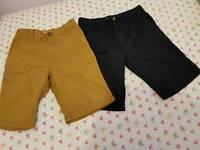 2x Next Boys Shorts Age 12yrs