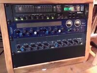 TL Audio C1 Twin tube compressor hardware Valve Preamp SERVICED & MANUAL (Stereo)