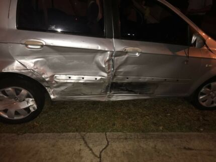 Hyundai Getz 2005 manual accident damaged