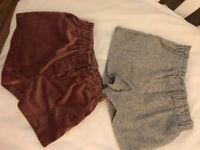 2 x 18-24 month shorts (like new)