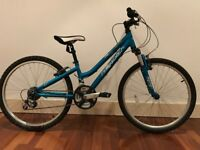 Unisex blue Ridgeback 'Destiny' children's bike