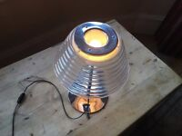 123goforit Beautiful stainless steel and glass lamp, excellent condition £40 o.n.o.
