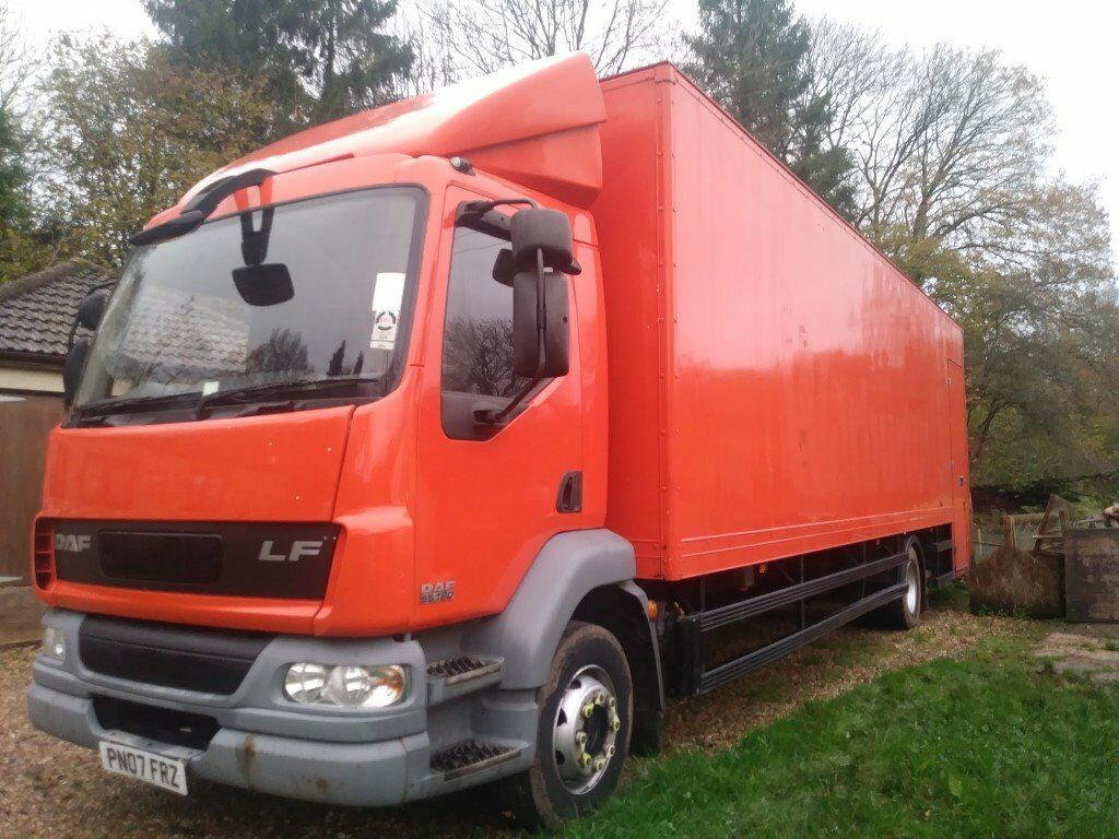 2007 (07) DAF LF55.180 GRP BOX BODY 29FT 13 TON INSULATED 500KG TAIL LIFT *VERY QUICK SALE NEEDED*