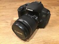 Canon EOS 650D plus 18-55mm Kit Lens