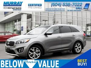 2016 Kia Sorento 3.3L SX **NAVI**REAR CAMERA**BLUETOOTH**