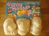 Magic Roundabout cake moulds for jelly