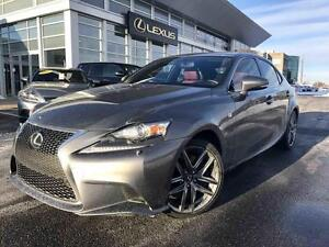 2014 Lexus IS 350 AWD F-SPORT 2, NAV, CAM, LEATHER AWD F-SPORT 2