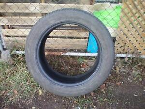 1 Bridgestone Dueller H/L 400 RFT Tire * 255 50R19 107H * $30.00 .  M+S / All Season Run Flat Tire ( used tire )
