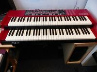 Nord C2 Combo Organ with Nord Rotary switch & Cover