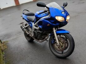 Suzuki SV650s - Can also be restricted for A2