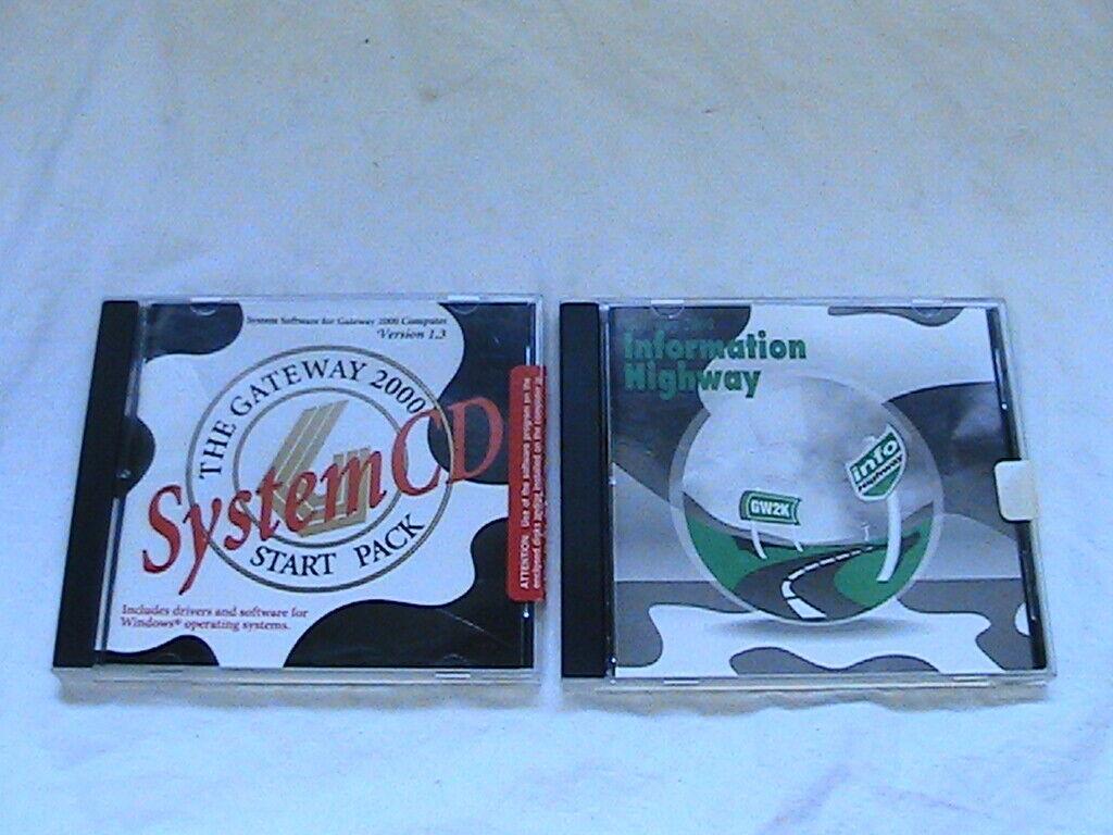 GATEWAY 2000 SYSTEM SOFTWARE VERSION 1.3 PLUS AN INFORMATION HIGHWAY CD
