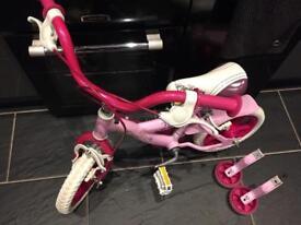 Girls Toddler bike