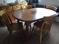 Dining/Living Room Furniture Old Oak
