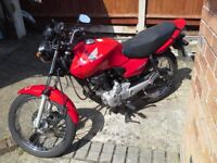 HONDA CG 125cc Motorcycle You really don't want to miss this!!