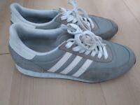 Size 7 grey addidas trainer