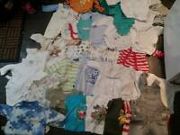 Baby clothes 0-3 some 3-6 months