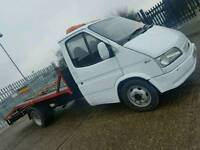 FORD TRANSIT RECOVERY LWB 190D TIPPER CHASSIS SOLID K 1992 MK5 LOW MILES