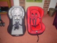 A Nania and A Mothercare Childs Car seat for up to 18K, very nice clean and in good condition item.