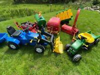 Pedal Tractors & accessories