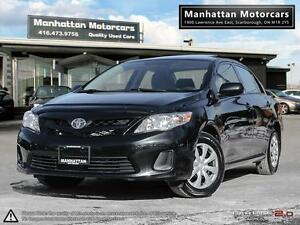 2013 TOYOTA COROLLA POWER GROUP - 1 OWNER|SUNROOF|WARRANTY