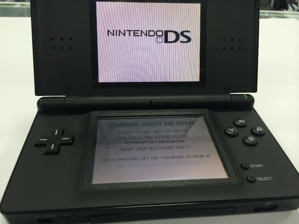 BLACK NINTENDO DS - OTHER COLOURS AVAILABLE -