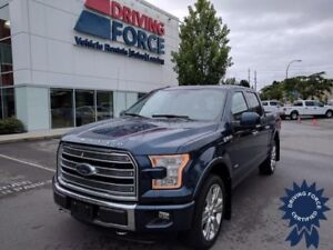 2016 Ford F-150 Limited Super Crew 4x4 - 31,697 KMs, 3.5L V6 Gas