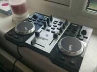 Hercules Instinct S series USB DJ controller