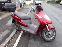 HONDA DYLAN SES 124cc fully automatic scooter 2002