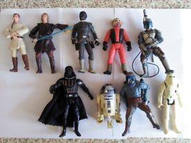 Star Wars action figures bundle