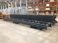 JOB LOT DEXION pallet racking 4.6m high excellent condition ( pallet racking , industrial storage )