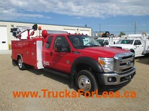 2012 ford F-550 XLT 4X4, SERVICE TRUCK + MUCH MORE!!!