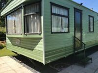 Staic caravan for sale off site !. In lovely condition, a real bargain .