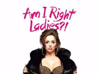 Luisa Omielan- Am I Right Ladies?! TWO TICKETS, FACE VALUE