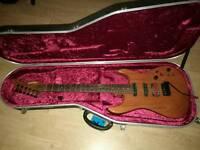 Vintage Fernandes guitar. Flagship Japanese model. Sustainer, Dimarzio, Hipshot and top upgrades.