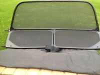 2012 BMW 1 series convertible wind deflector + carry case