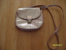 Girls gold handbag